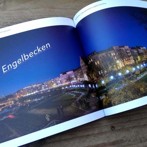 Panoramafoto Lichtgrenze im Buch