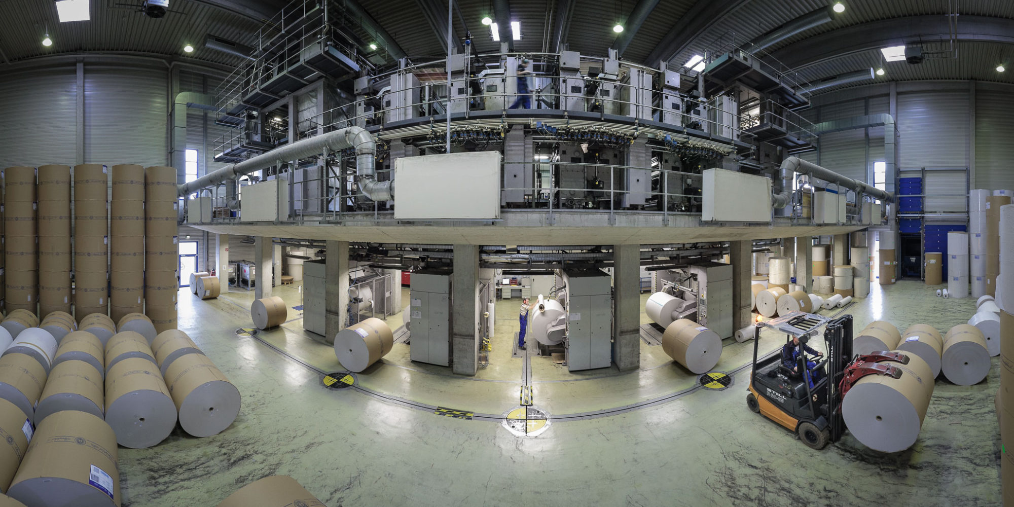 Maschinenhalle 360 Video
