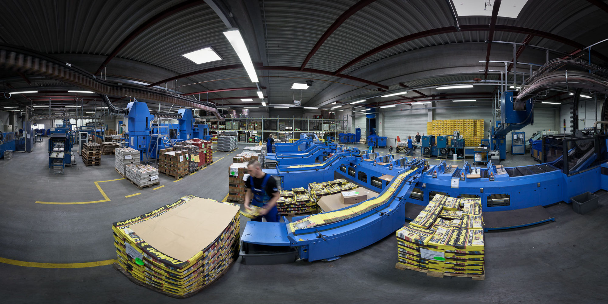 Verpackungsabteilung 360 Video